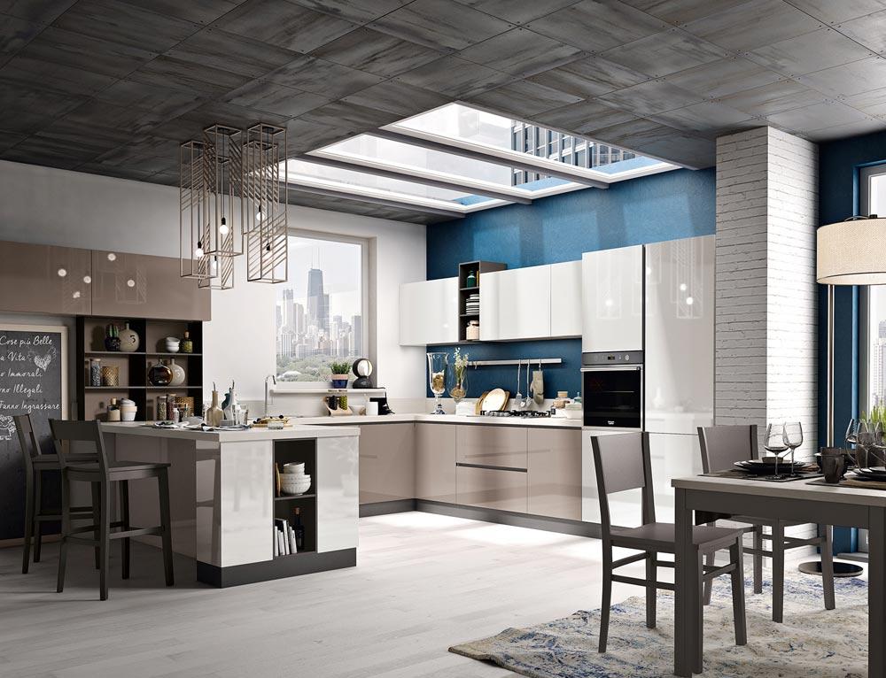 Cucine componibili arredamento soggiorno e camera spar for Siti design casa