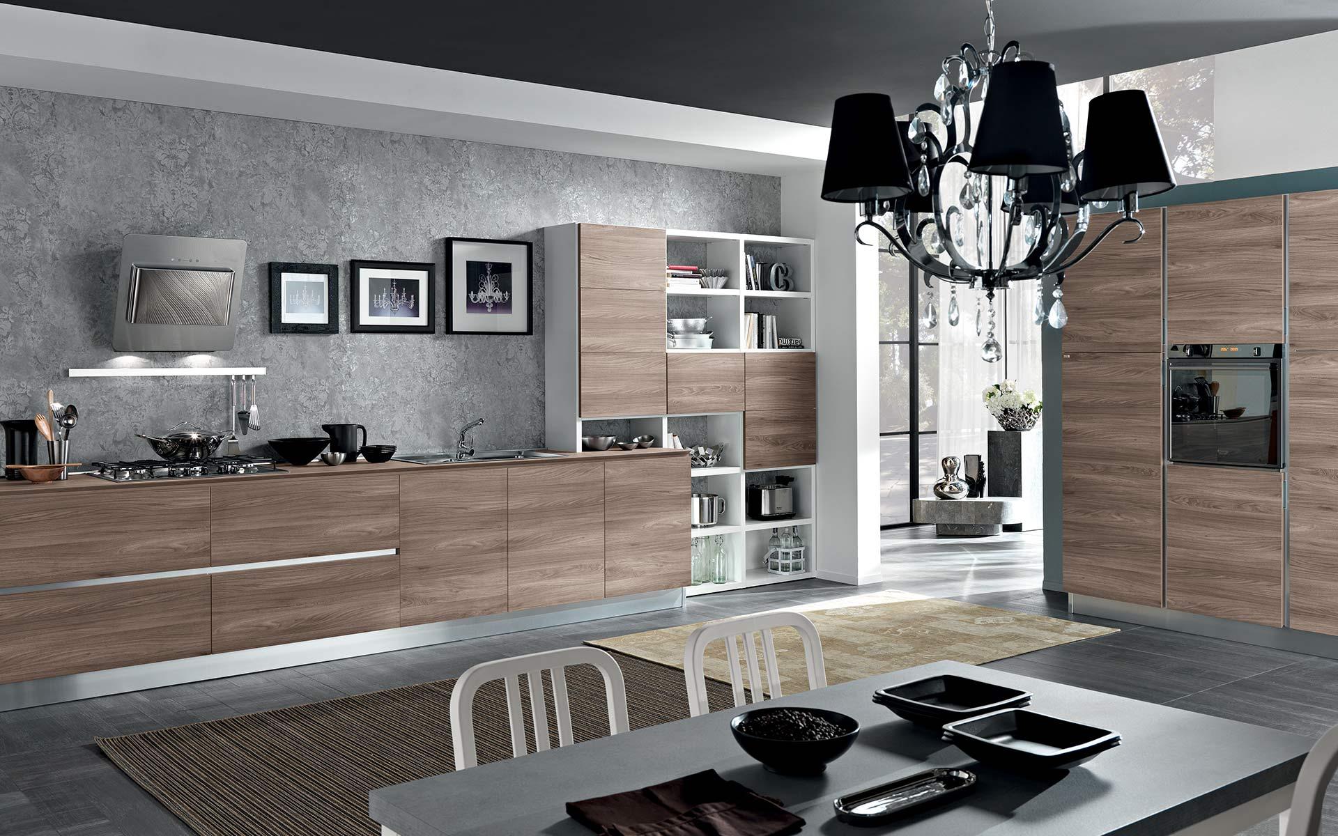 cucina moderna pratica ed elegante per una vita contemporanea