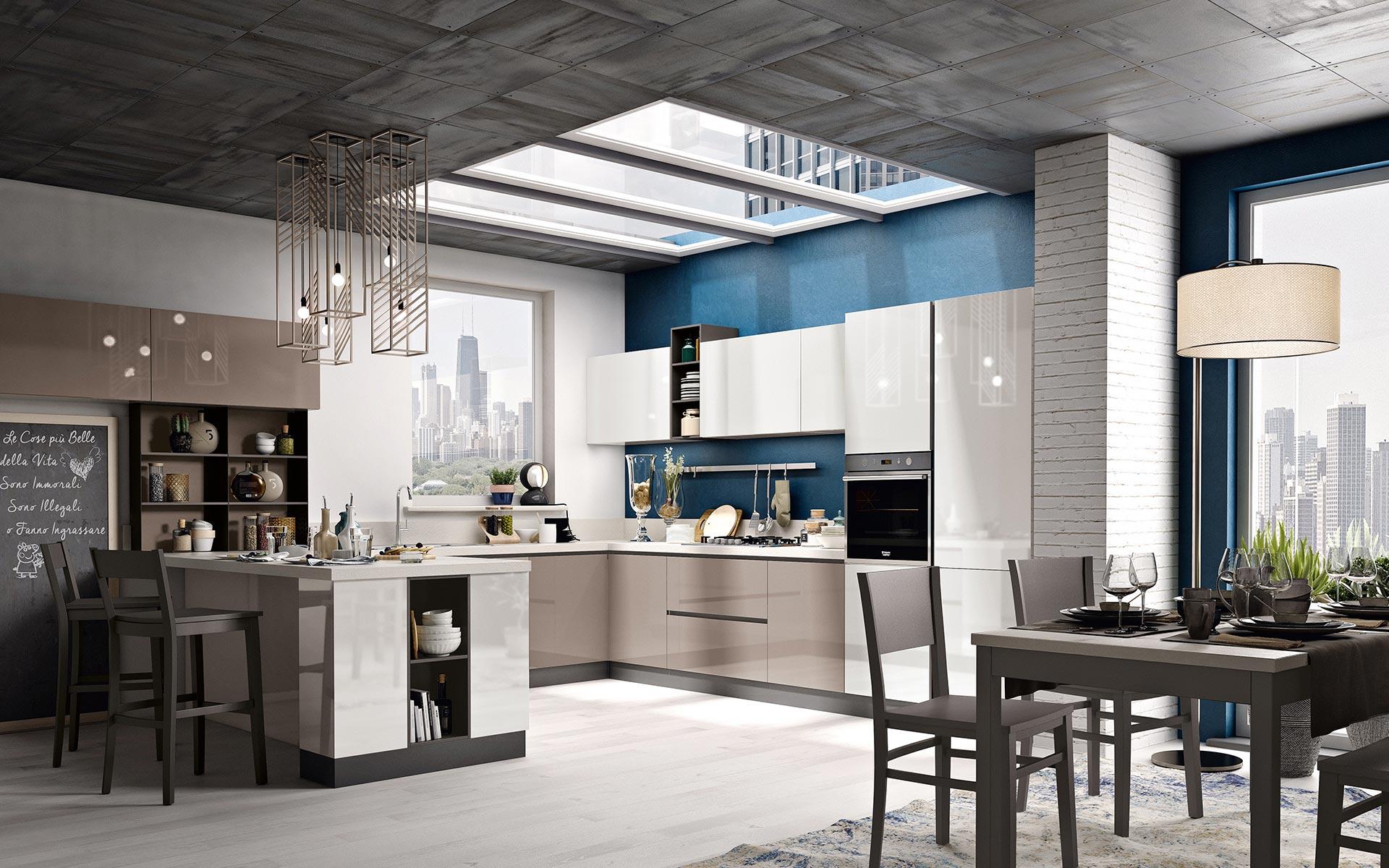 Camere Da Letto Piu Belle Del Mondo cucine componibili, arredamento soggiorno e camera | spar