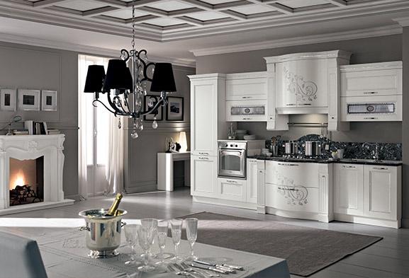 Cucine classiche componibili cucine su misura spar - Cucine eleganti moderne ...