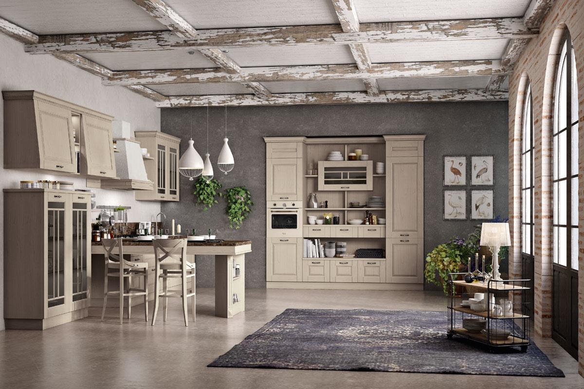 Cucine classiche componibili - Cucina Bilbao | Spar
