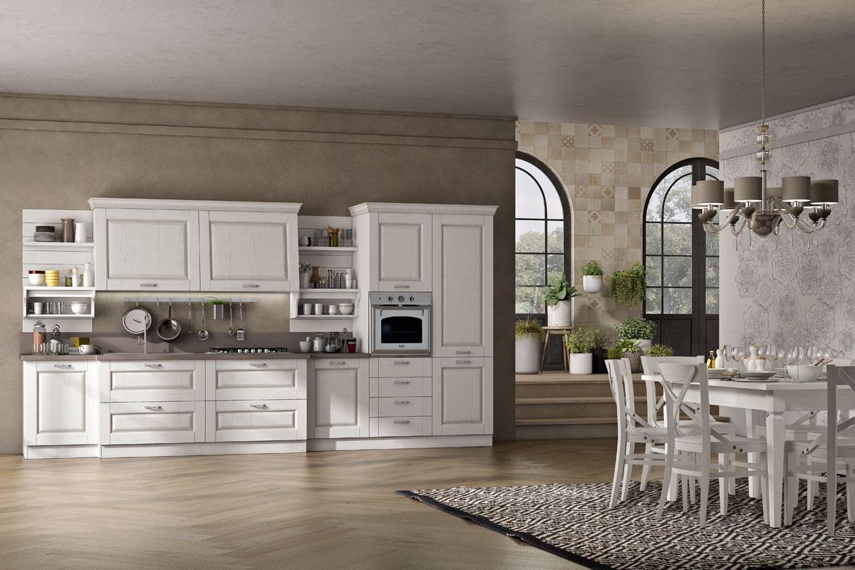 Cucine classiche componibili cucina bilbao spar for Casa classica toscana srl