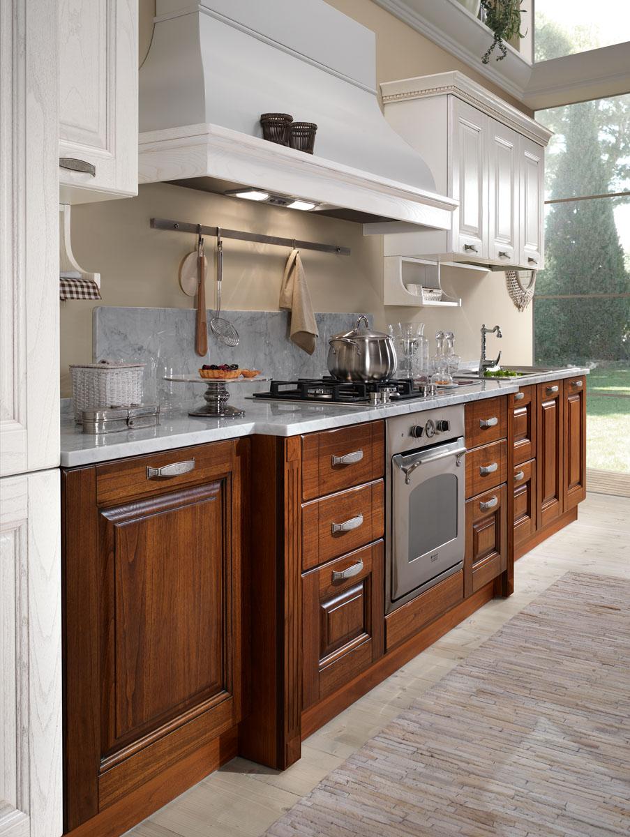 Cucina Mobili Classica.Cucine Classiche Componibili Cucina Bilbao Spar