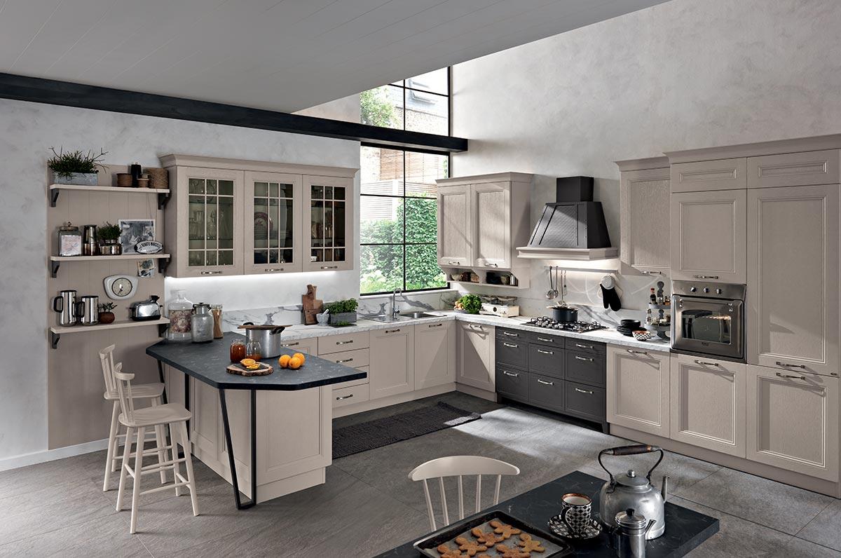 Cucina classica componibile - Modello Maryland | Spar