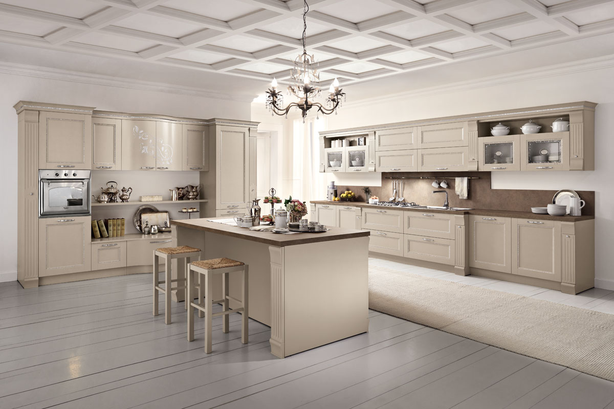 model prestige - modular classic kitchen | spar