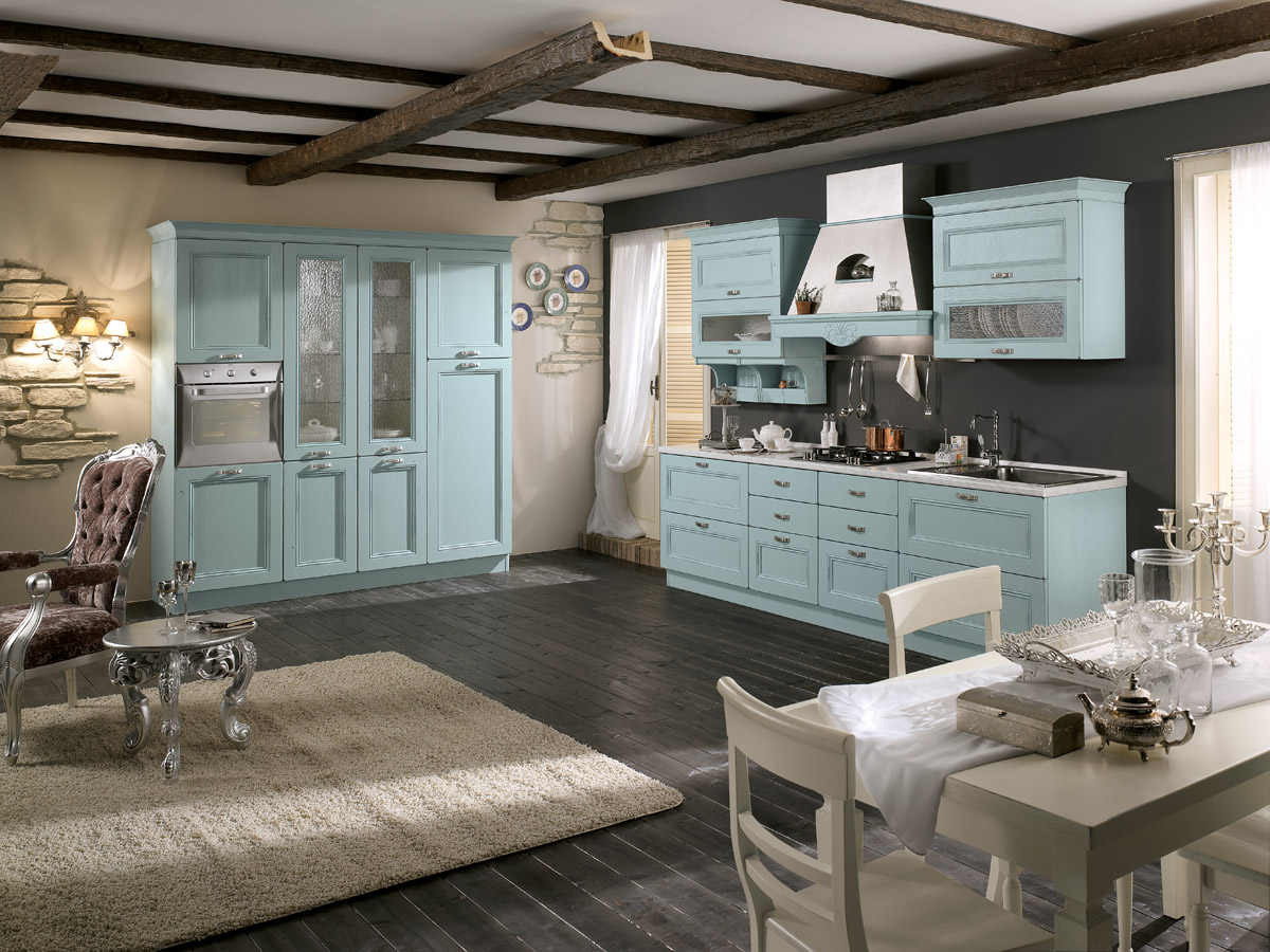 Model Siviglia - Modular classic kitchen | Spar