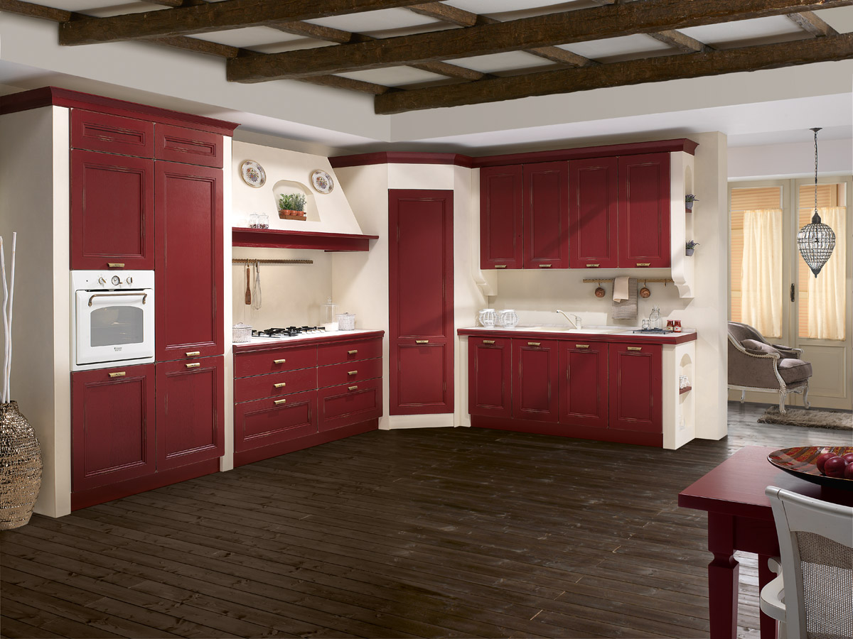 Cucina componibile classica cucina siviglia spar - Disegni di cucine ...
