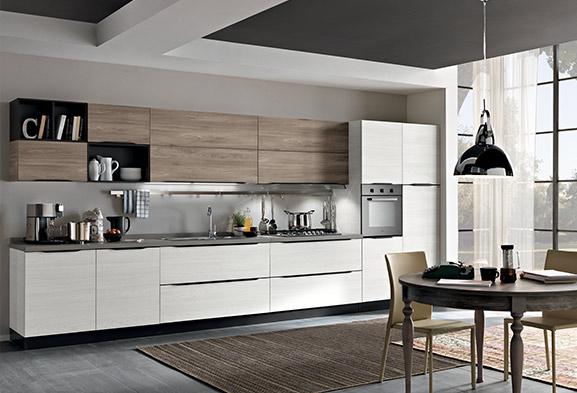 Cucine moderne componibili e cucine su misura spar - Immagine cucine moderne ...