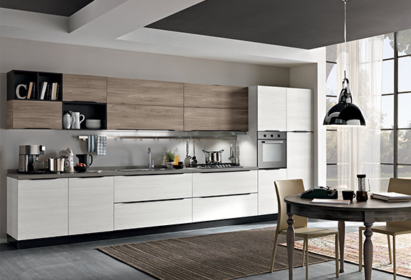 Cucine moderne componibili e cucine su misura spar for Cucine immagini