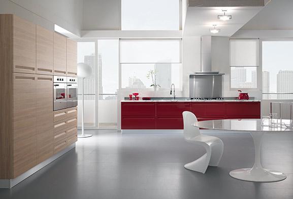 Cucine moderne componibili e cucine su misura spar for Belle cucine moderne