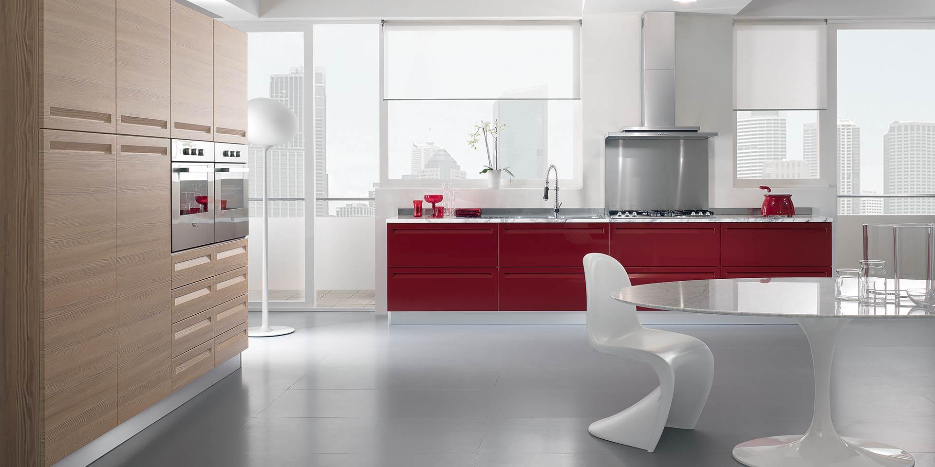 Cucine componibili moderne cucine vetrocucina con isola - Spar cucine moderne prezzi ...