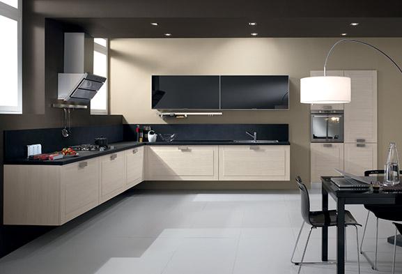 Cucine moderne componibili e cucine su misura spar - Cucine colorate moderne ...