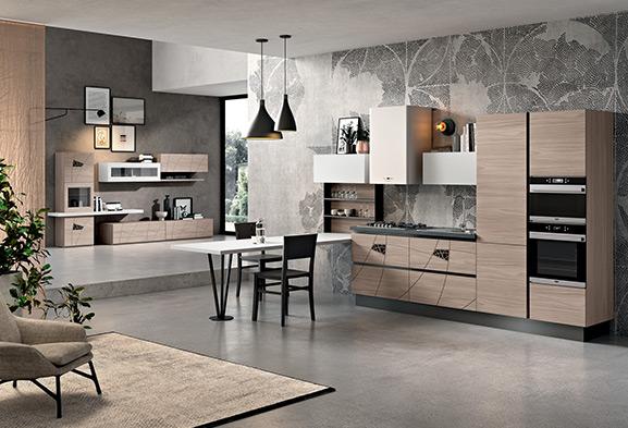 Cucine Moderne Componibili E Cucine Su Misura Spar