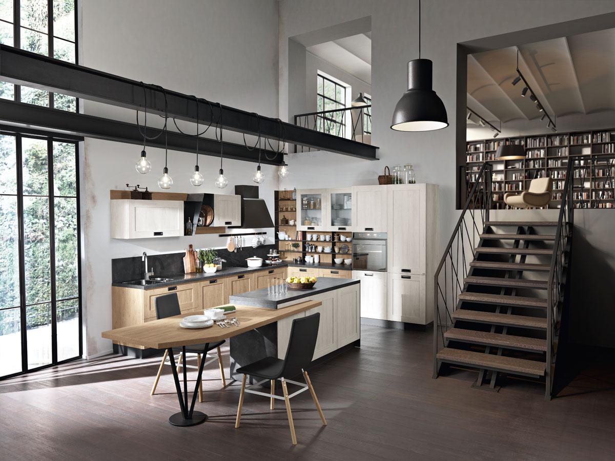 Cucina componibile moderna cucina daytona spar for Spar cucine