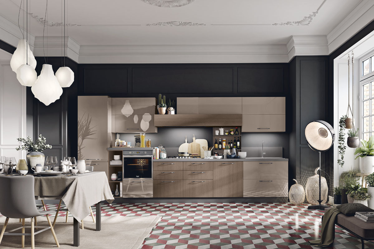 Cucina componibile moderna - Cucina Daytona | Spar