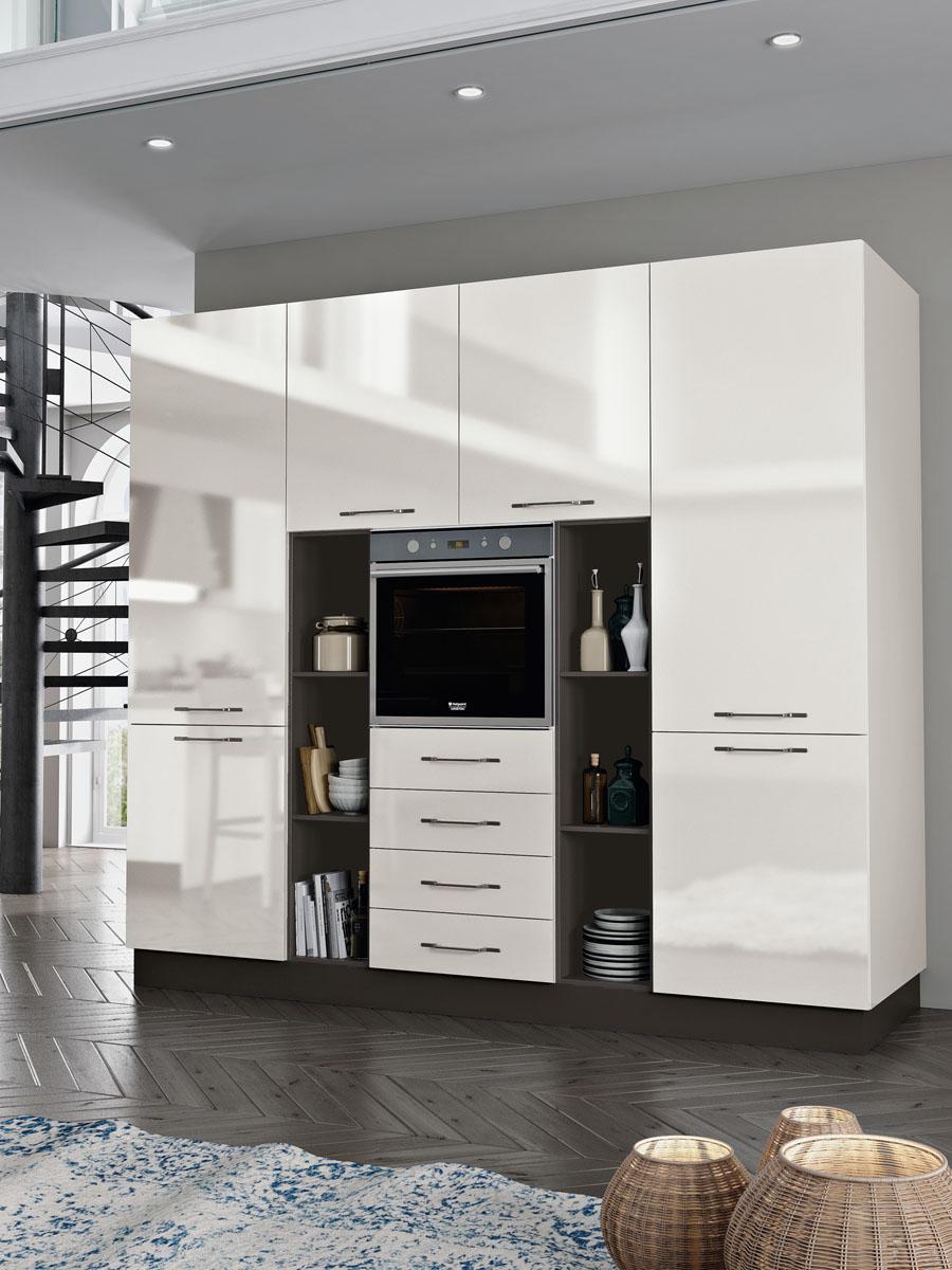Cucina componibile moderna - Cucina Daytona   Spar