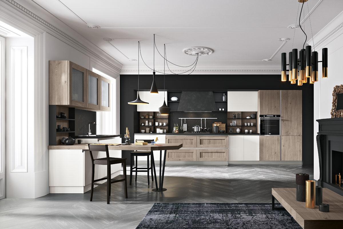 Cucina componibile moderna cucina daytona spar - Cucine moderne particolari ...