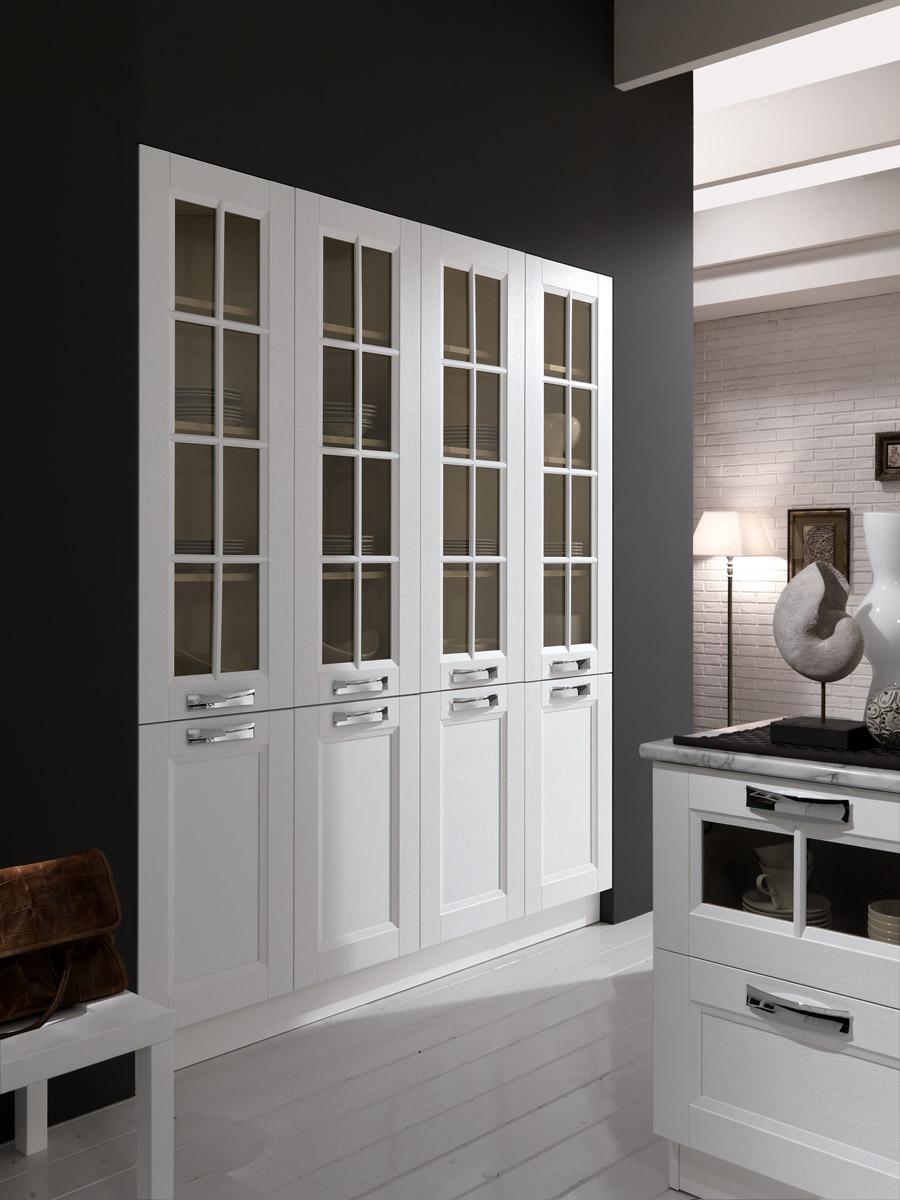La cucina moderna affordable cucina con penisola e cappa - Cucina color melanzana ...