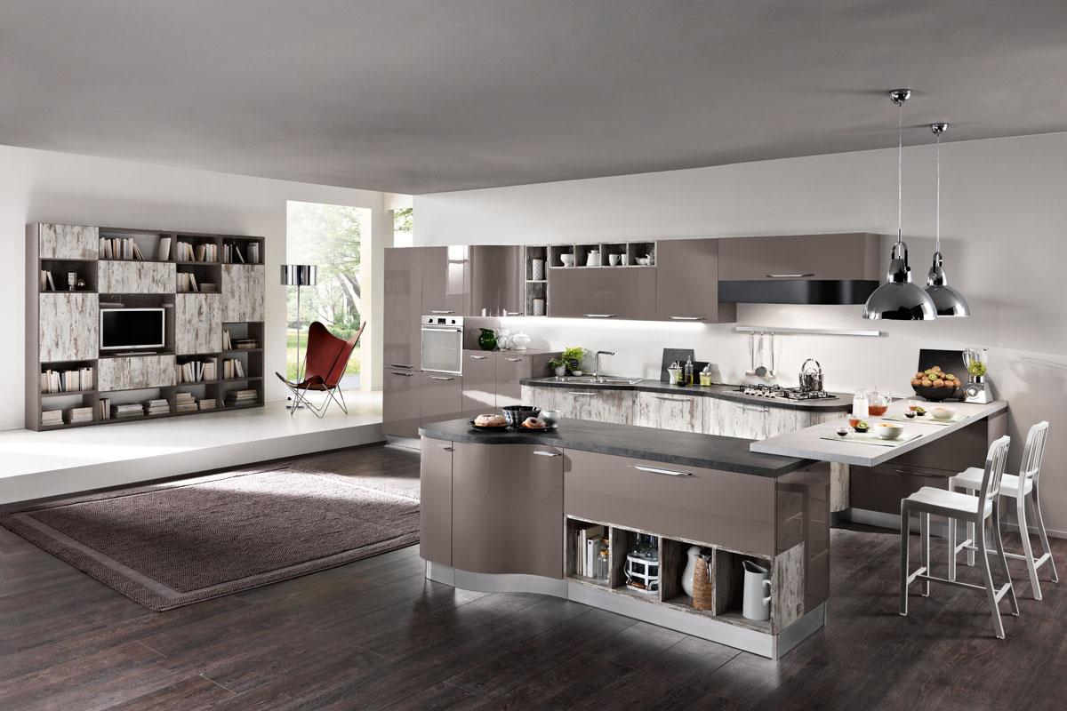 Cucina componibile moderna cucina miami spar for Spar cucine