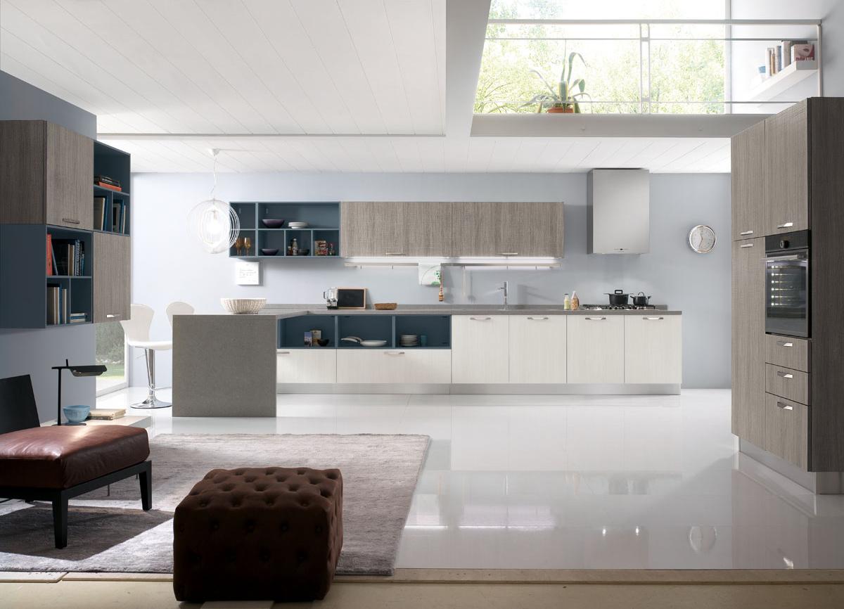 Spar Cucine Moderne.Model Miami Modular Modern Kitchen Spar