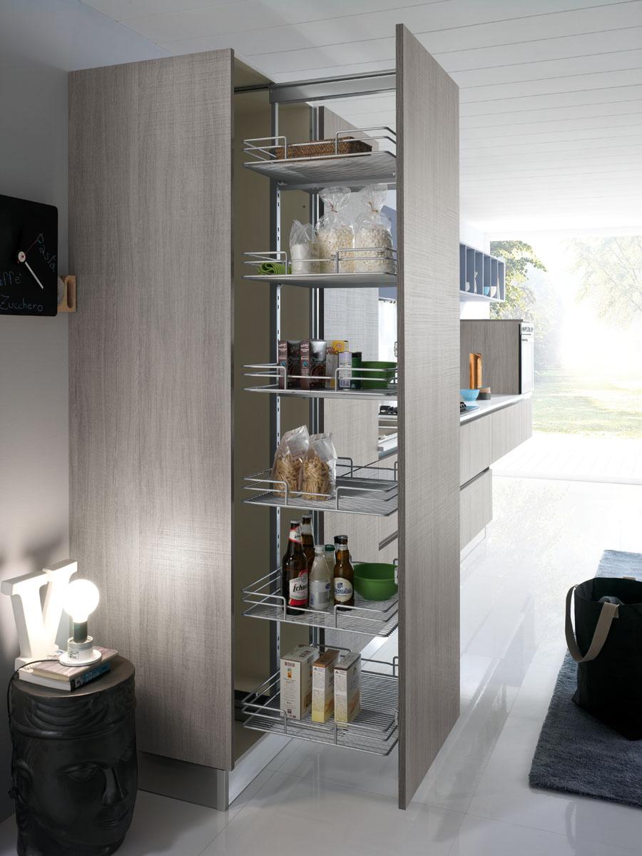 Cucina componibile moderna cucina miami spar - Cucina nascosta ...