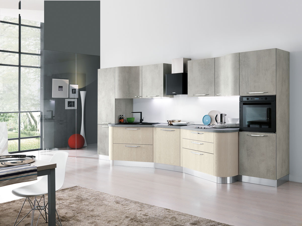 Model Miami - Modular modern kitchen | Spar