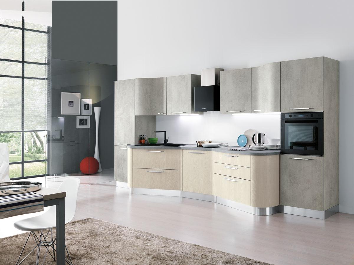 Cucina componibile moderna cucina componibile a vista for Aurora arreda