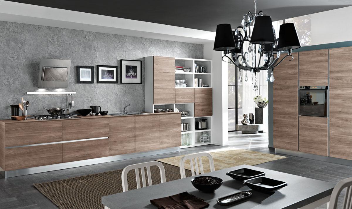 Cucina moderna bicolore minimal - Cucina Tokyo | Spar