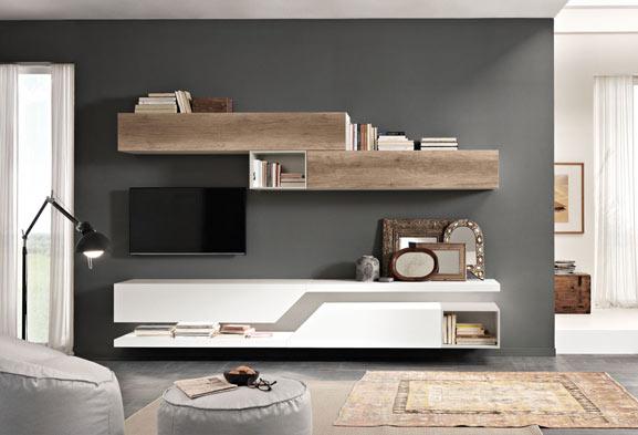 Arredamento soggiorno arredamento zona giorno e salotto - Soggiorno arredamento moderno ...