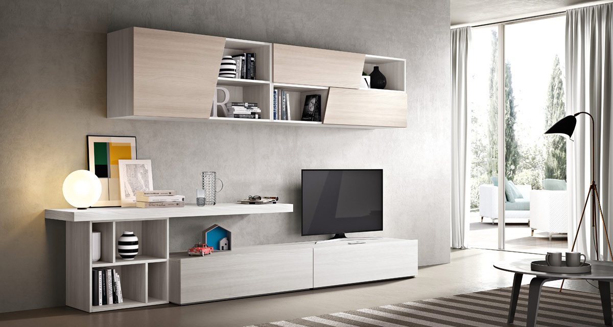 Mobili soggiorno Moderno - Modello 2DayOne | Spar