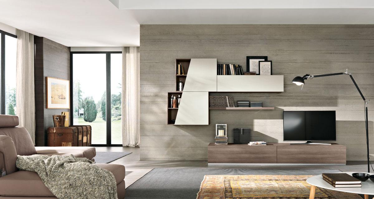 Arredamento soggiorno moderno modello exential spar for Arredo salotto design