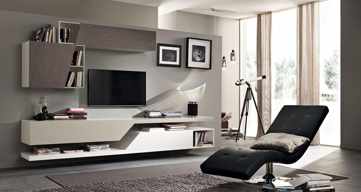 Arredamento soggiorno moderno modello exential spar for Arredamento moderno salotto