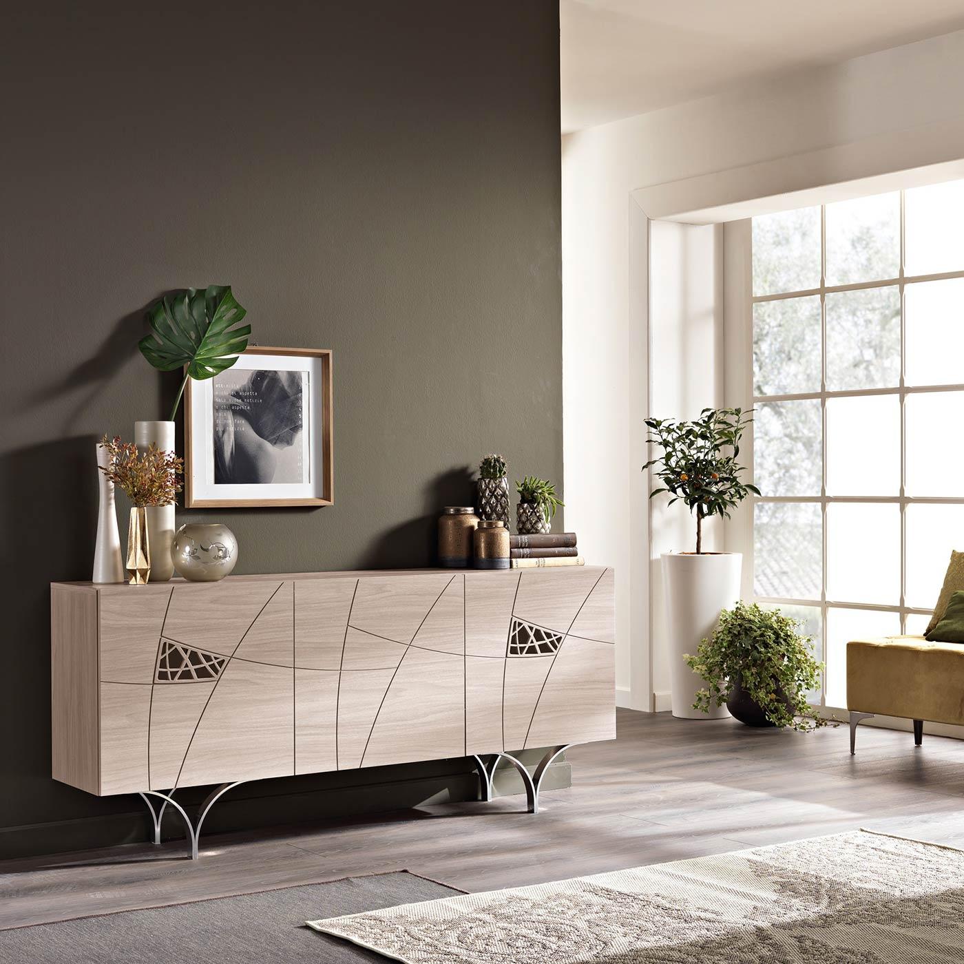 Arredamento soggiorno moderno modello lapis spar for Modelli di soggiorni moderni