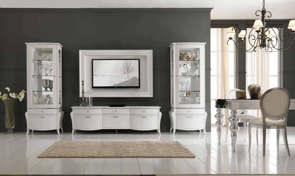 Arredamento soggiorno classico modello prestige spar - Arredamento parete soggiorno ...