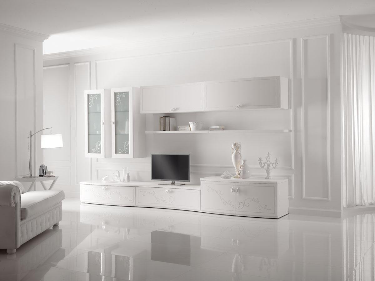 Arredamento soggiorno classico modello prestige spar for Soggiorno elegante