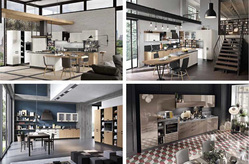 Daytona, tre stili di cucina per infinite combinazioni