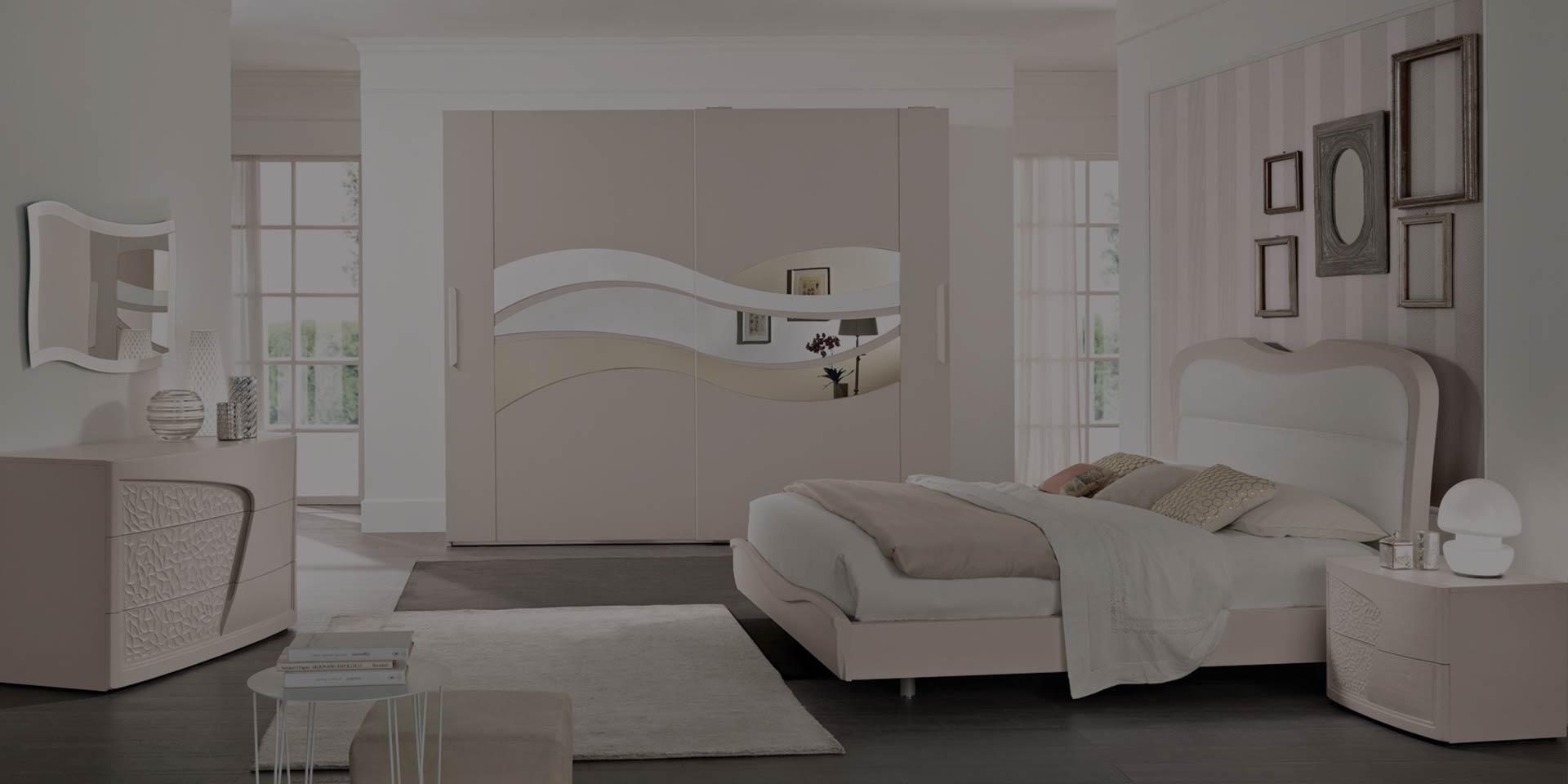Arredamento camera da letto modello prestige spar - Specchi particolari per camera da letto ...