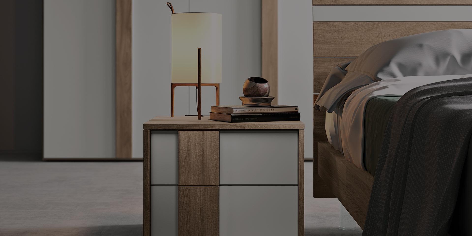 Camere da Letto Moderne - Modello 2Nightone - Spar Arreda