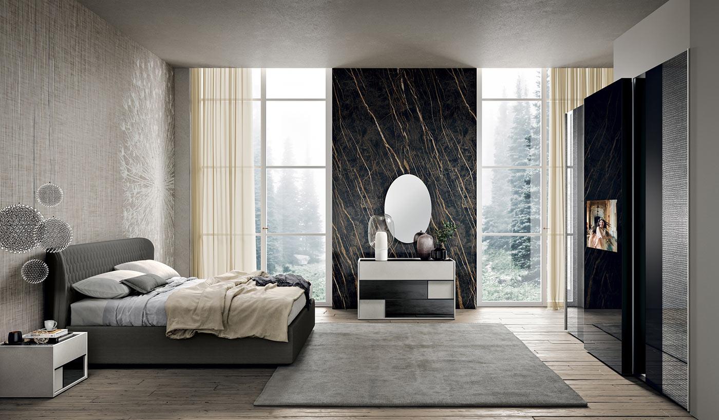 Camere da letto moderne modello 2nightone spar arreda for Mondo arreda