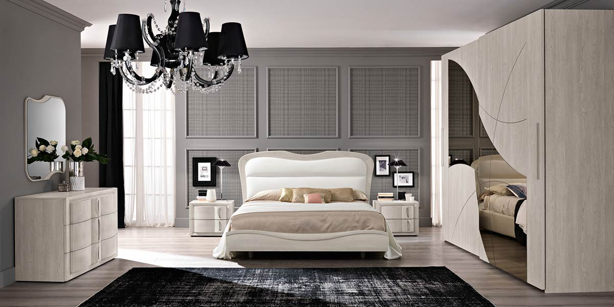 Camere da letto moderne modello contemporaneo spar for Arredamento moderno contemporaneo