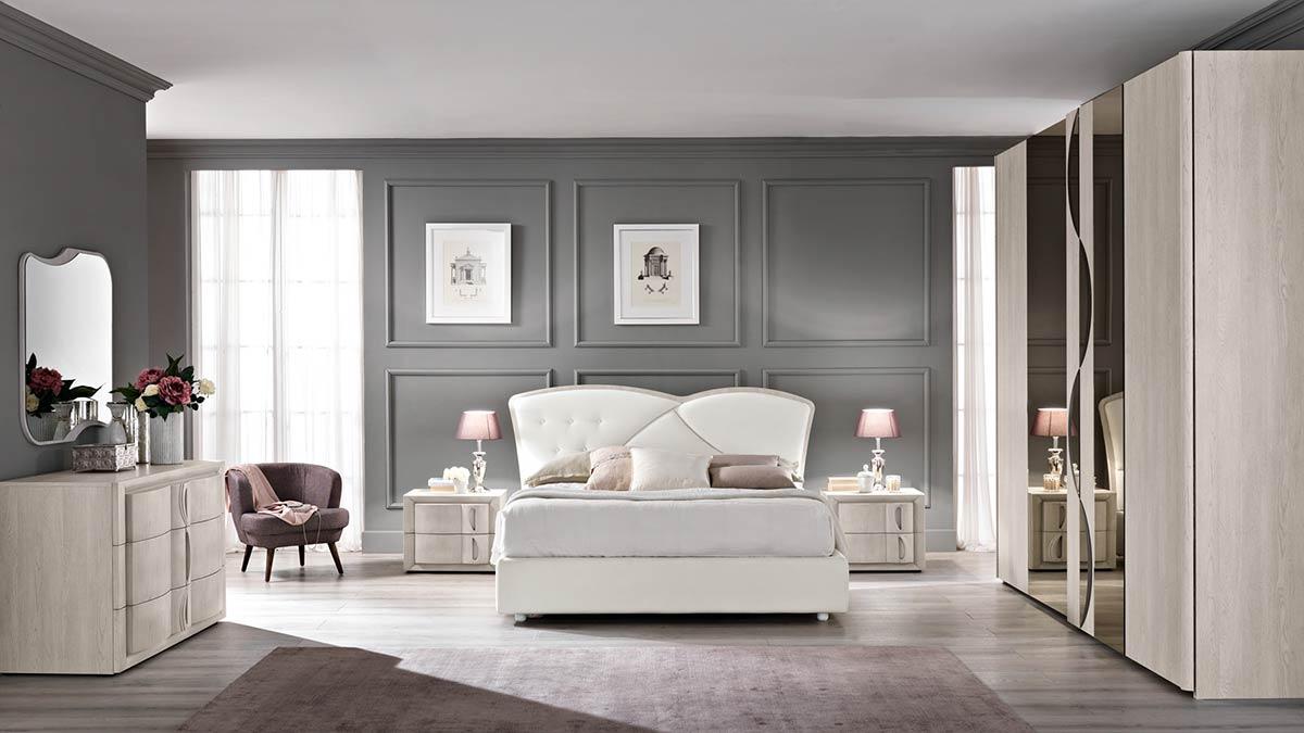 Camere da letto moderne modello contemporaneo spar for Zona notte arredamento