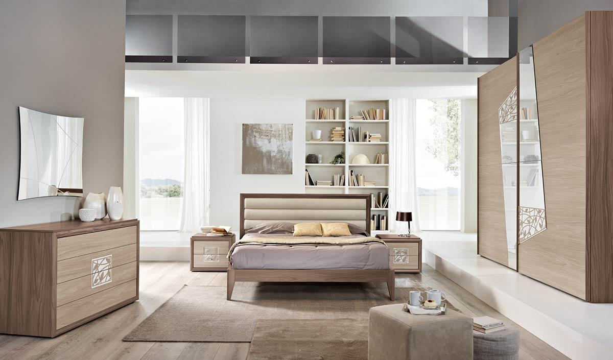 Arredo zona notte modello contemporaneo spar - Camera da letto contemporanea prezzi ...