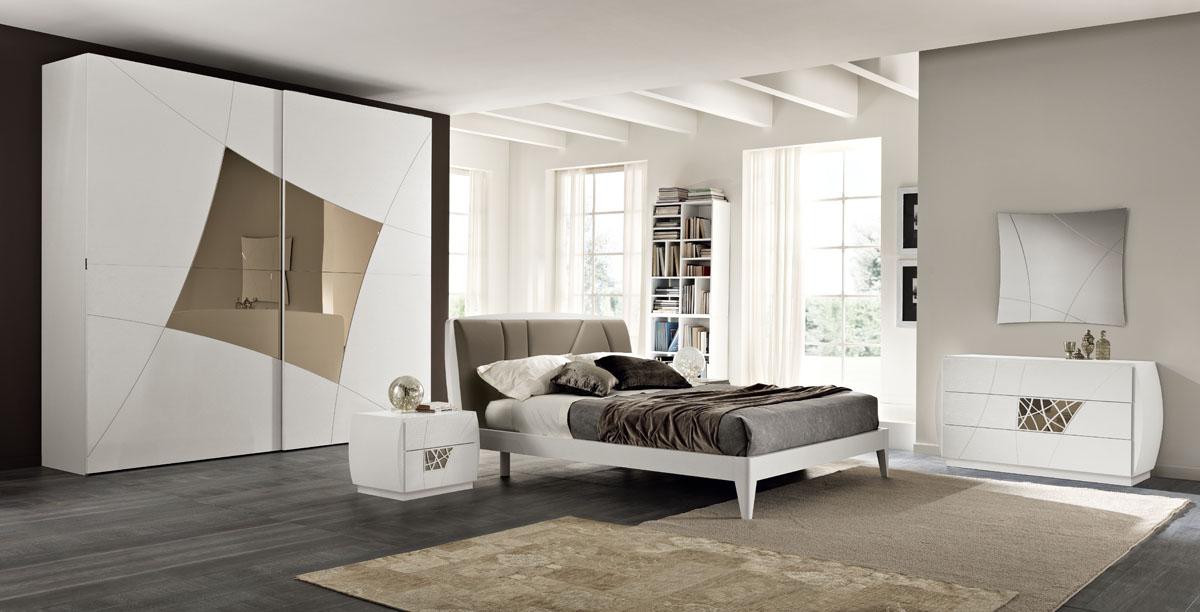 Camere da letto moderne modello lapis spar for Camere da letto moderne prezzi mercatone uno