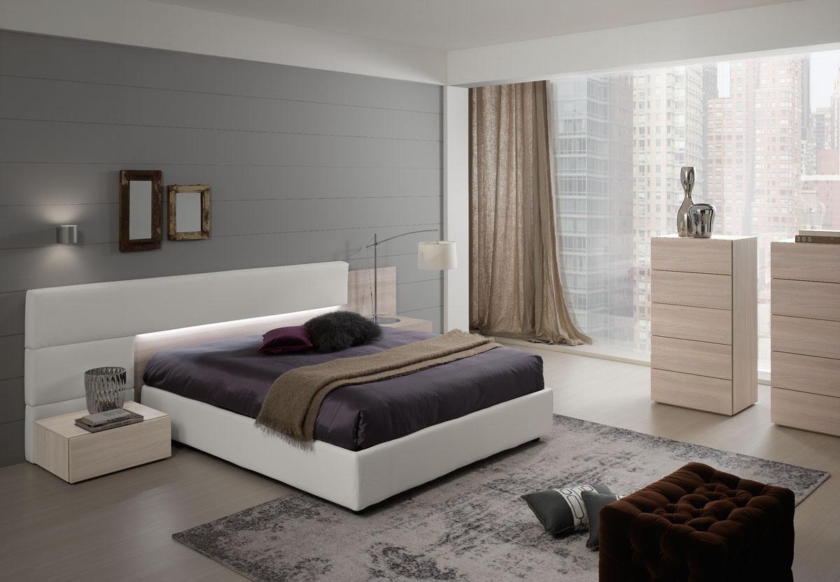 Arredo zona notte modello lineup spar - Camera da letto moderna completa ...