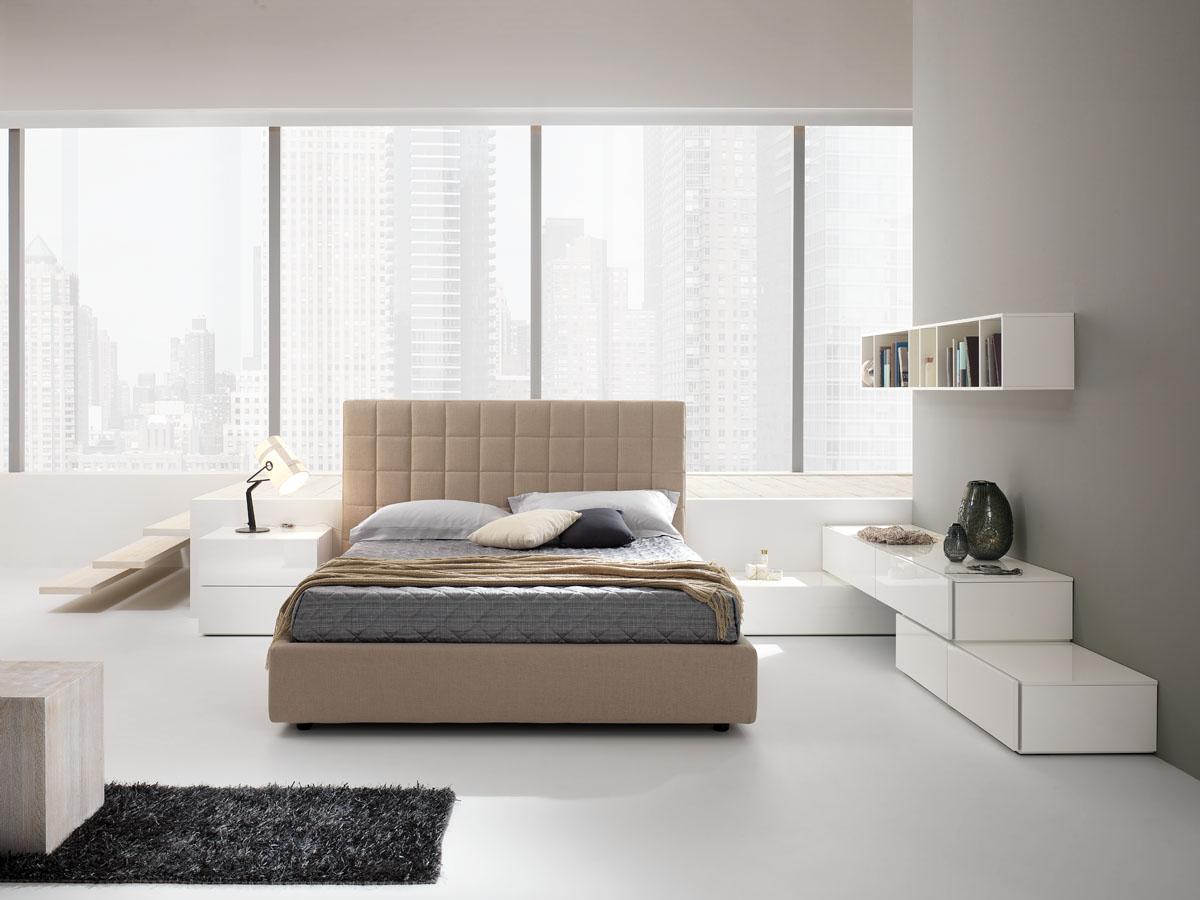 Arredo zona notte modello lineup spar for Letto minimalista