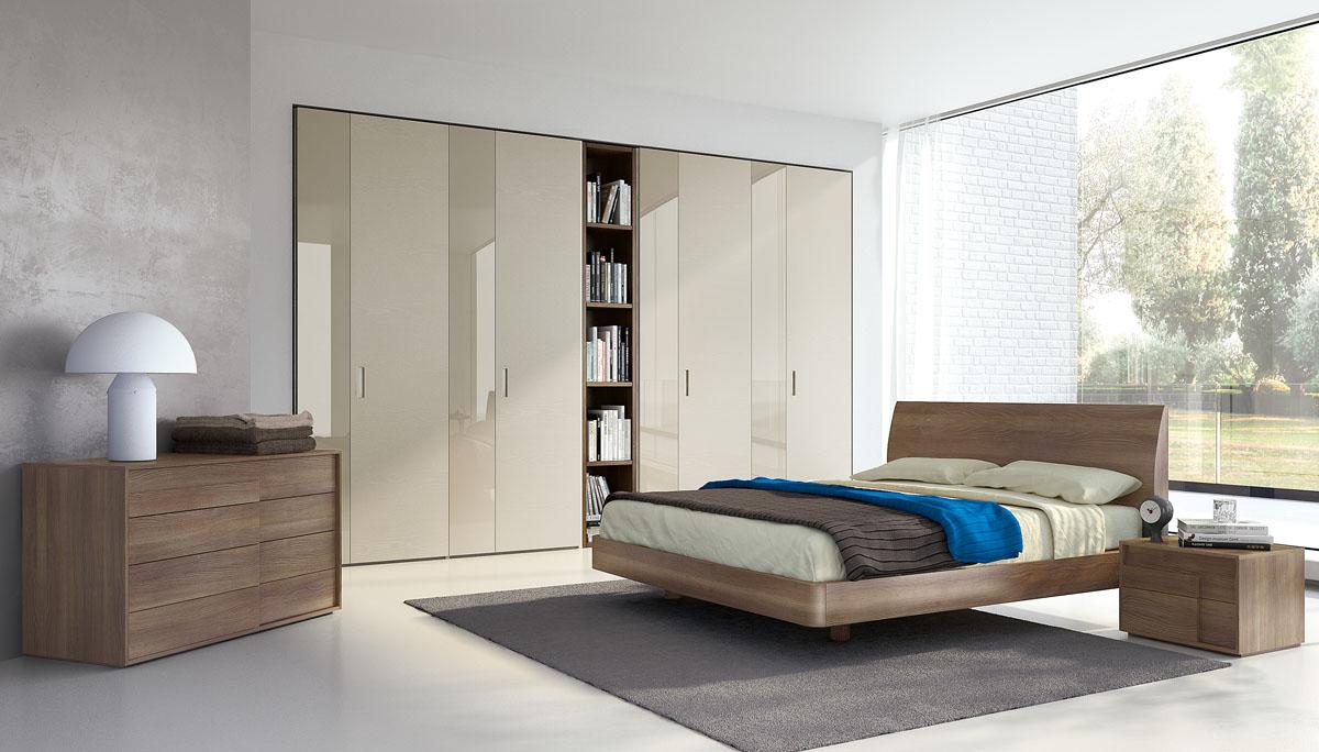Camere da letto moderne modello lineup spar - Nuova arredo camere da letto ...