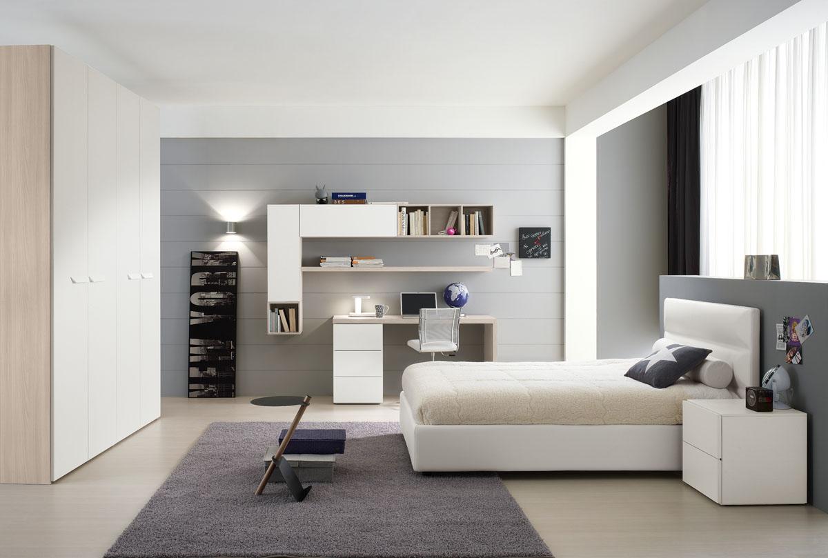 Camere da letto moderne modello lineup spar - Escritorio habitacion ...