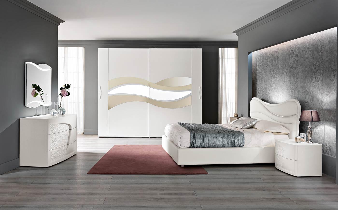 Arredamento camera da letto modello prestige spar for Mobili arredo camera