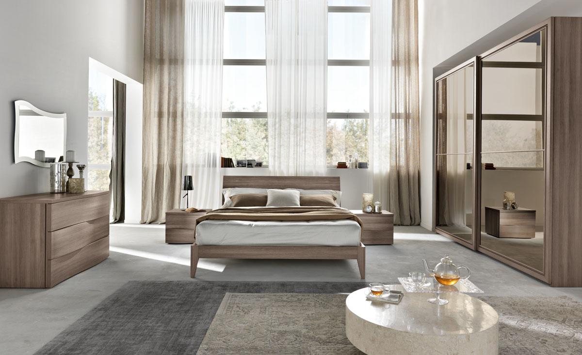 Arredamento camera da letto modello sistema notte spar for Negozi camere da letto roma