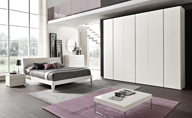 Arredamento Notte Moderno.Camere Da Letto Moderne Modello Sistema Notte Spar